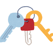 鍵がいっぱい